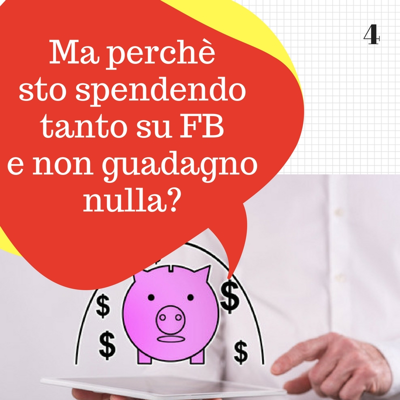 spendere sui social network